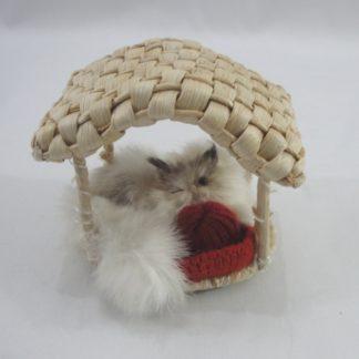 Διακοσμητικό ζωάκι γούνινο γατούλα