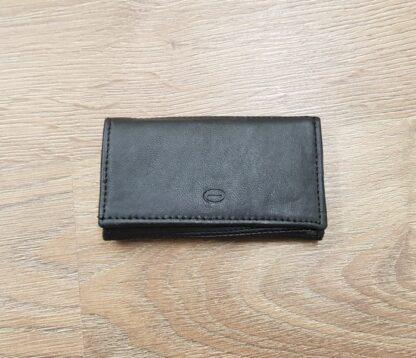 Δερμάτινη κλειδοθήκη πορτοφόλι μαύρο