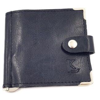 Ανδρικό πορτοφόλι δερμάτινο χαρτονομισμάτων μαύρο