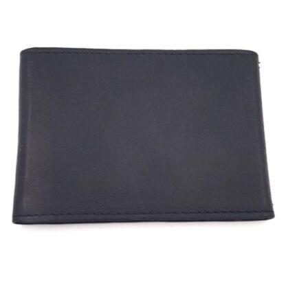 Δερμάτινη καρτοθήκη νουμπούκ μαύρο2