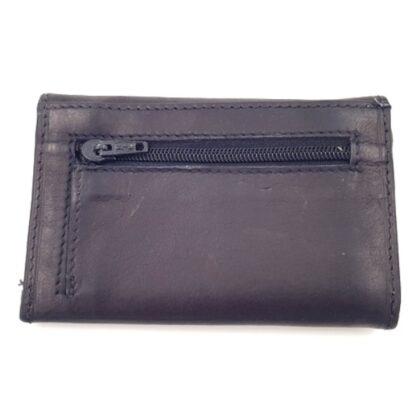 Δερμάτινο πορτοφόλι κλειδοθήκη μαύρο2