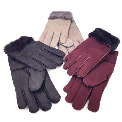 Γάντια γούνινα ανδρικά γυναικεία