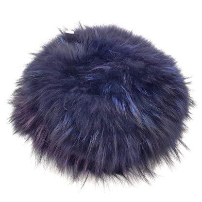 Γούνινο καπέλο γυναικείο μπλε