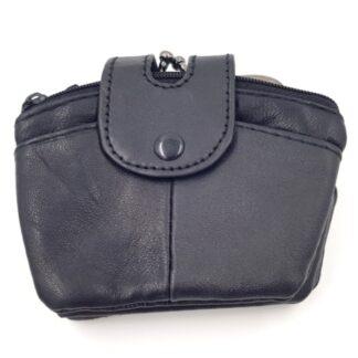 Γυναικείο πορτοφόλι κερμάτων μαύρο
