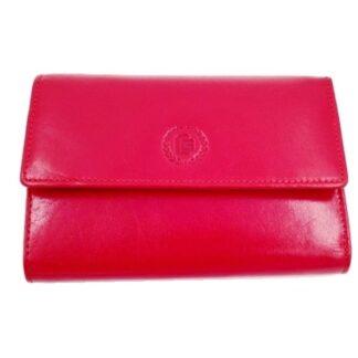 Μεγάλο δερμάτινο πορτοφόλι κόκκινο