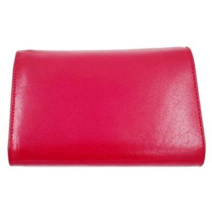 Μεγάλο δερμάτινο πορτοφόλι κόκκινο2