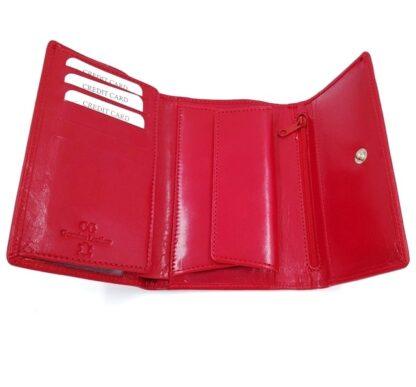 Μεγάλο δερμάτινο πορτοφόλι κόκκινο3