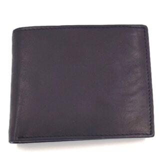 Πορτοφόλι ανδρικό δερμάτινο μαύρο