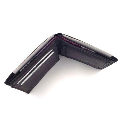 Πορτοφόλι ανδρικό δερμάτινο μαύρο5