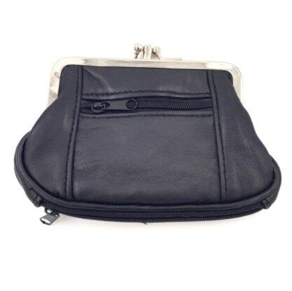 Πορτοφόλι για κέρματα με κλιπς μαύρο2