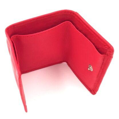 Πορτοφόλι κλειδοθήκη δερμάτινη κόκκινο4