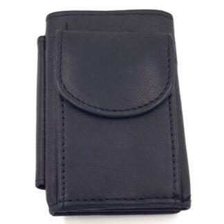 Πορτοφόλι κλειδοθήκη δερμάτινη μαύρο