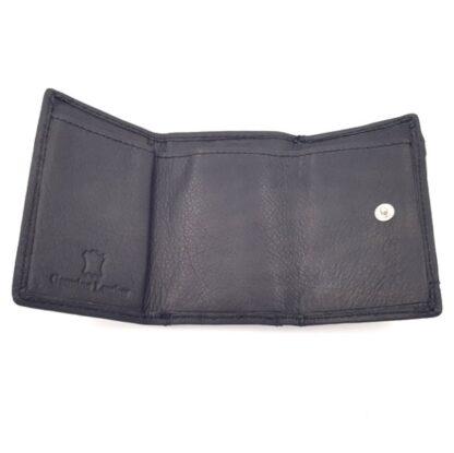 Πορτοφόλι κλειδοθήκη δερμάτινη μαύρο3