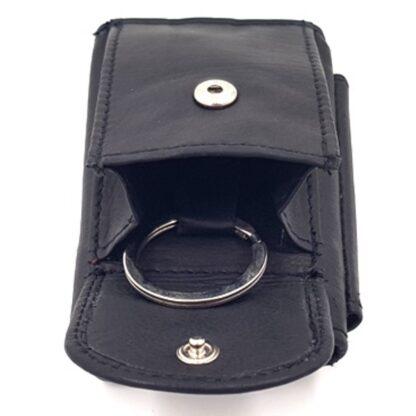 Πορτοφόλι κλειδοθήκη δερμάτινη μαύρο5