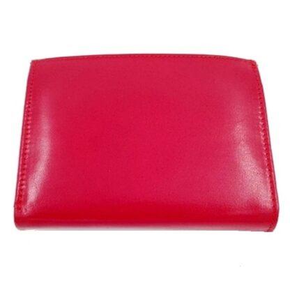 Πορτοφόλι χαρτονομισμάτων δέρμα κόκκινο2
