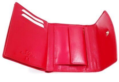 Πορτοφόλι χαρτονομισμάτων δέρμα κόκκινο3