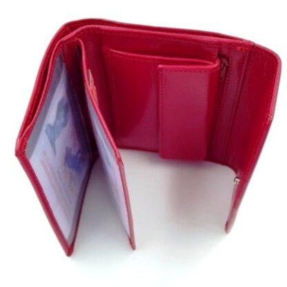 Πορτοφόλι χαρτονομισμάτων δέρμα κόκκινο4